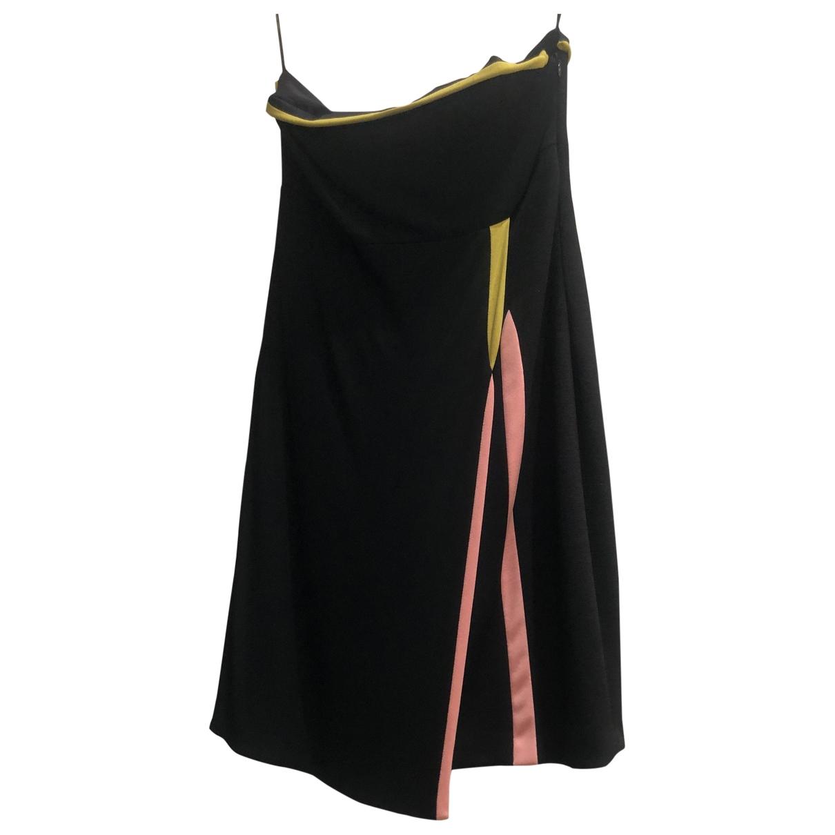 Gianni Versace \N Black Wool dress for Women 42 IT