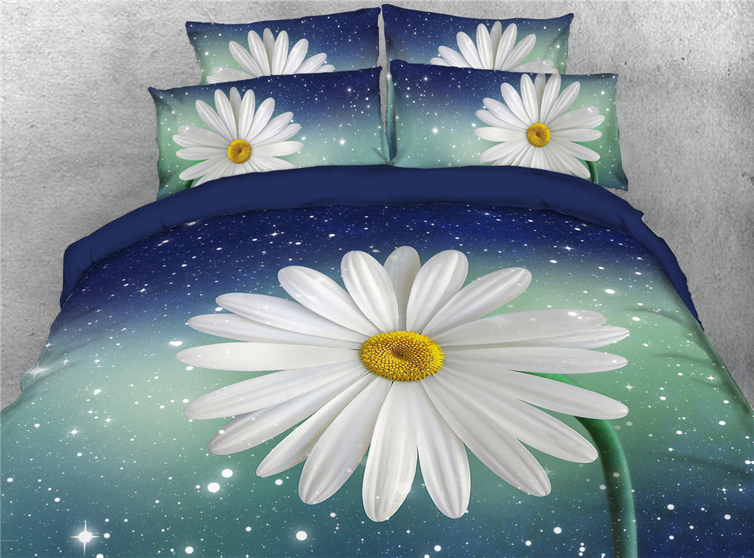 Daisy Five-Piece Set Hand Wash Comforter Set Nylon Bedding Sets Four Sizes