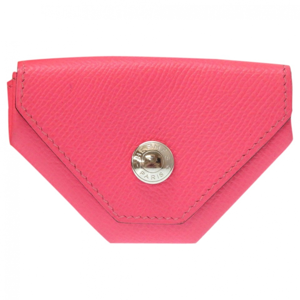 Herm??s 24 Pink Leather Purses, wallet & cases for Women \N