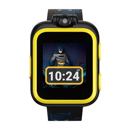 Itouch Playzoom Batman Boys Black Smart Watch-50088m-18-Blt, One Size , No Color Family