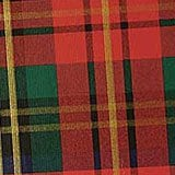 Deep Red Plaid Wrapping Paper - 24 X 833' - Gift Wrapping Paper - Type: Colored & Gold Ink On Line Embossed 62# Paper by Paper Mart