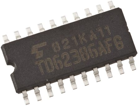 Toshiba TC74ACT245F(F), 1 Bus Transceiver, Bus Transceiver, 8-Bit Non-Inverting CMOS, 20-Pin SOP (5)