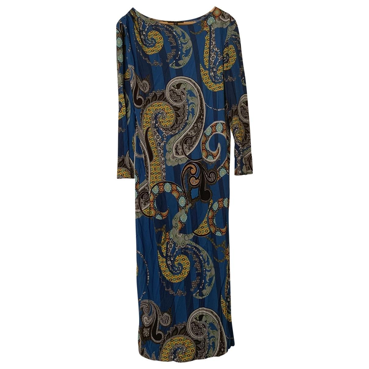 Etro \N Blue dress for Women 42 IT