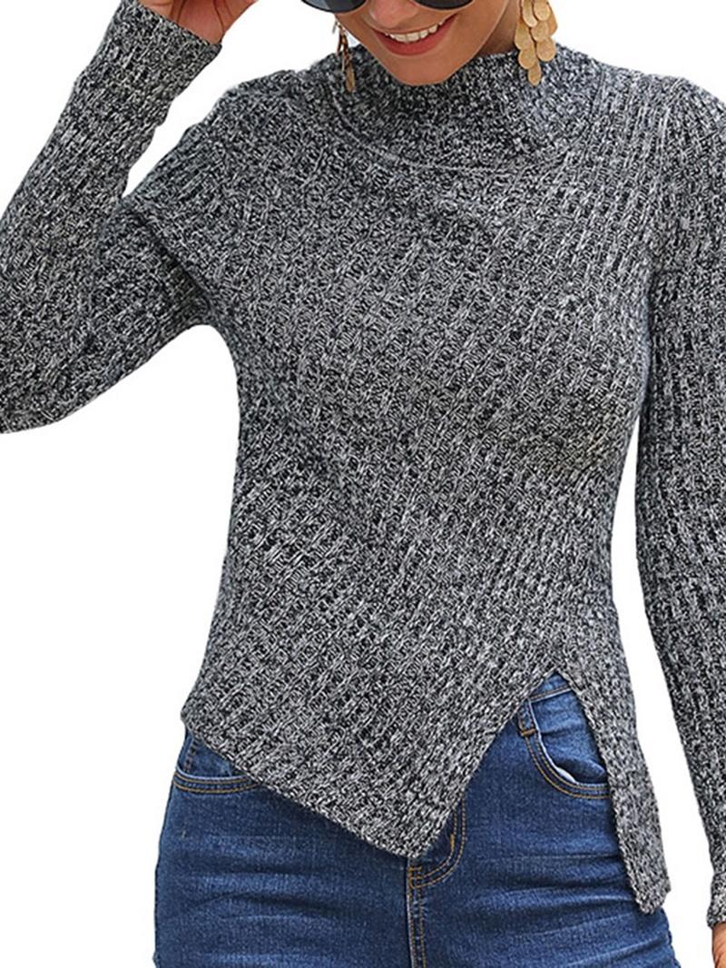 Ericdress Regular Thin Long Sleeve Fall Sweater