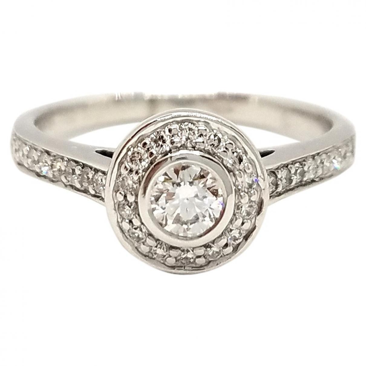 Autre Marque \N Silver White gold ring for Women 52 EU