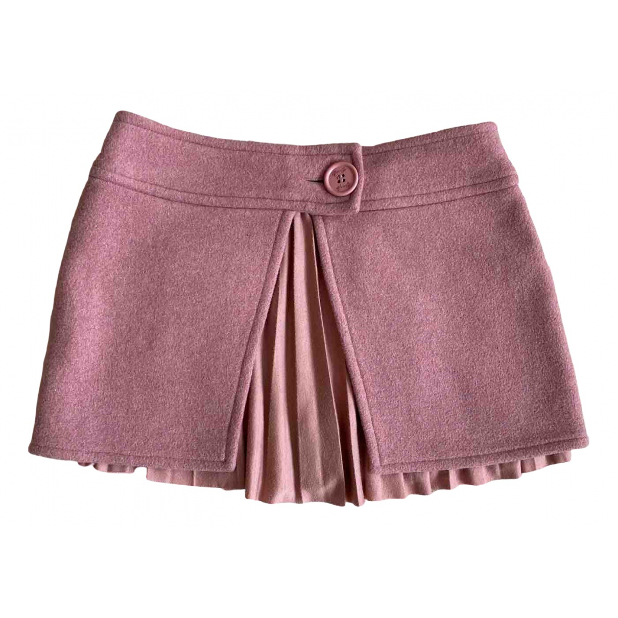 Liu.jo \N Pink Wool skirt for Women 42 IT
