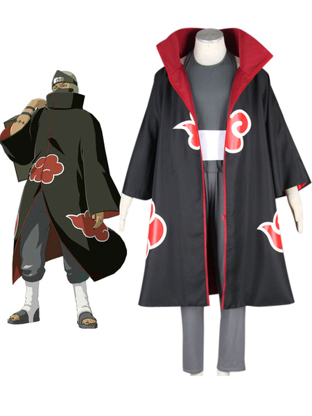 Milanoo Naruto Kakuzu Anime Cosplay Costume Halloween