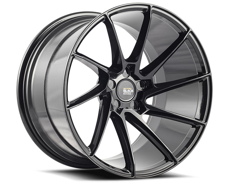 Savini BM15-19095508G5067L di Forza Gloss Black BM15 Left Wheel 19x9.5 5x108 50mm