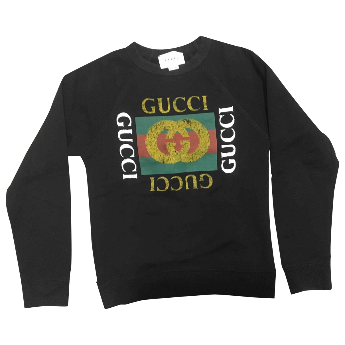 Gucci \N Black Cotton Knitwear for Kids 10 years - up to 142cm FR
