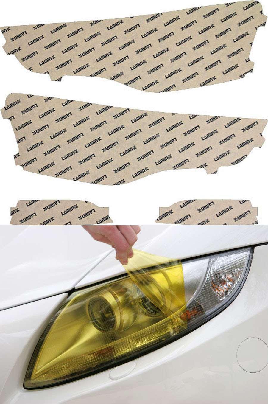 Audi S5 13-20 Yellow Headlight Covers Lamin-X A030Y