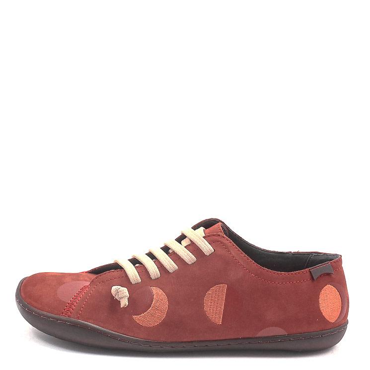 Camper, K201136 Twins Women's Sneakers, rust red Größe 39