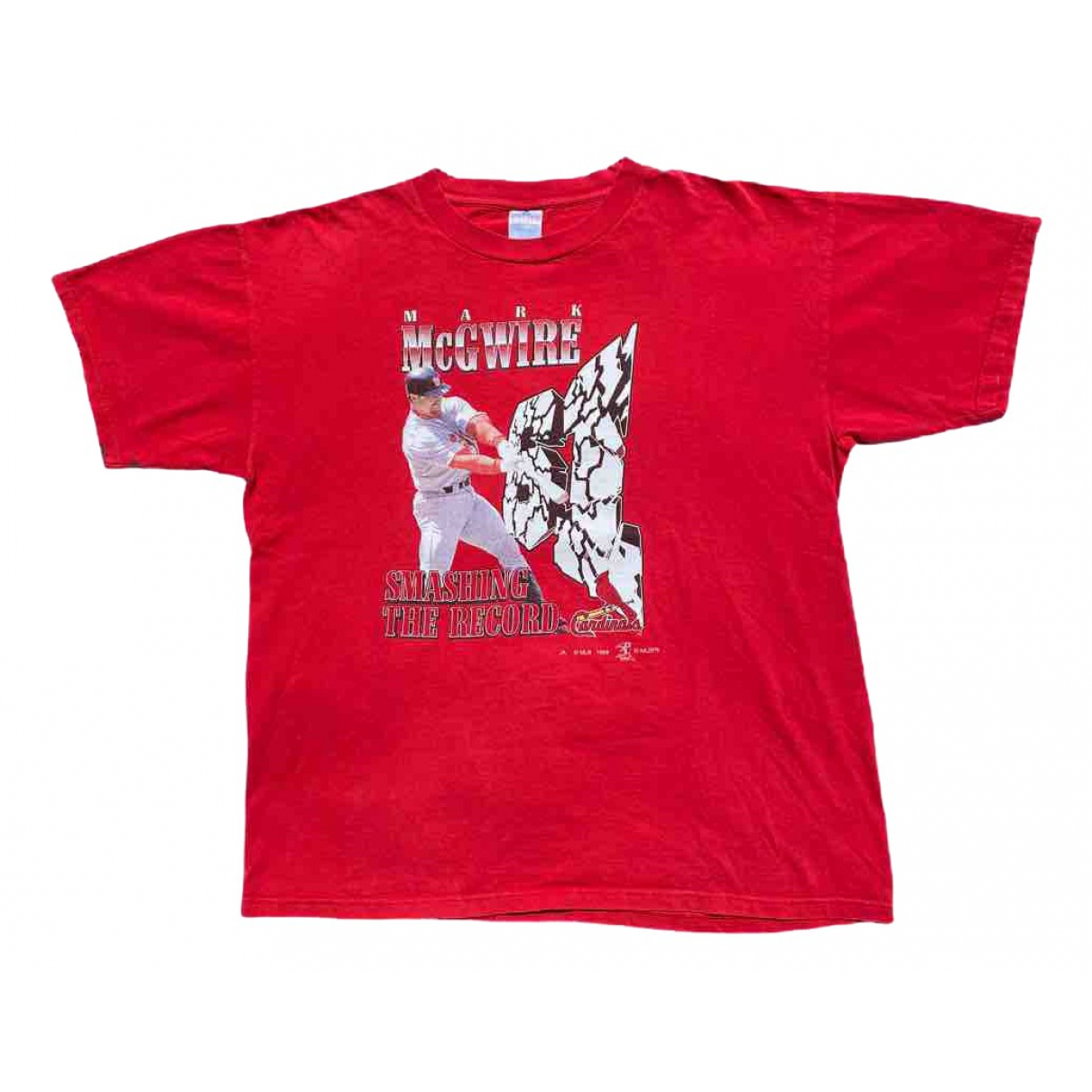 Non Signé / Unsigned \N Red Cotton T-shirts for Men XL International
