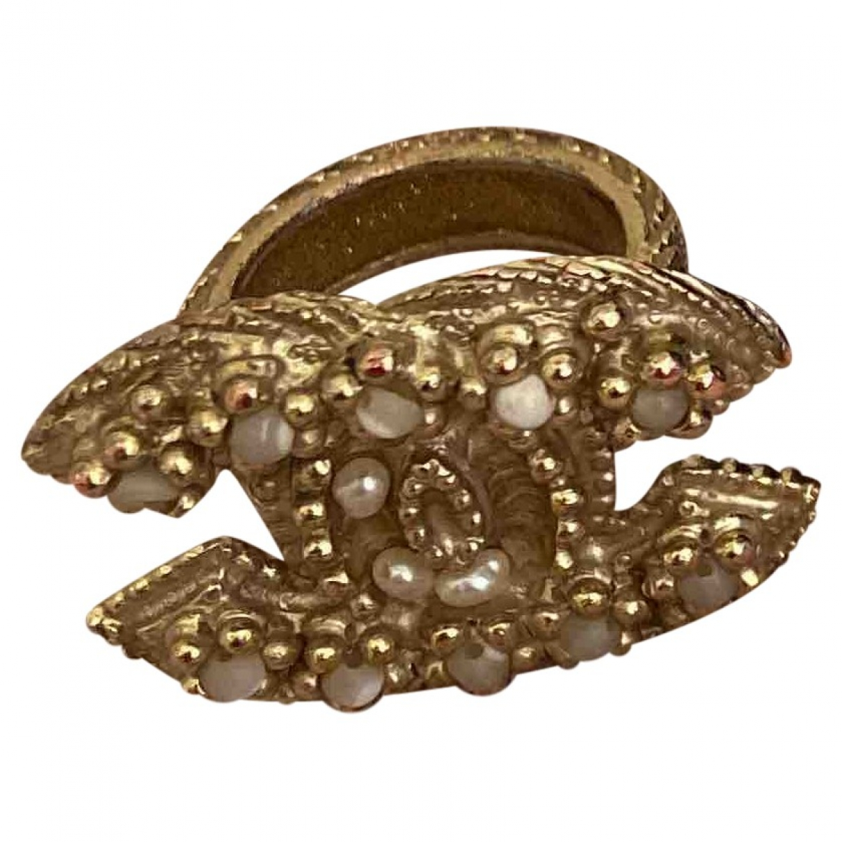 Chanel CC Gold Metal ring for Women \N