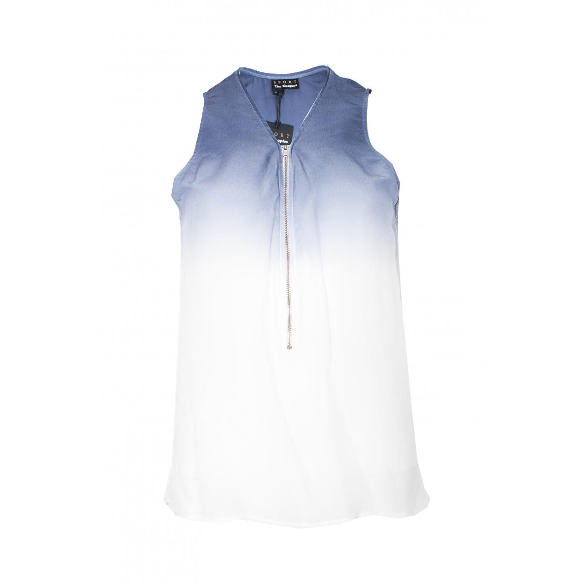 The Kooples \N White Silk  top for Women S International
