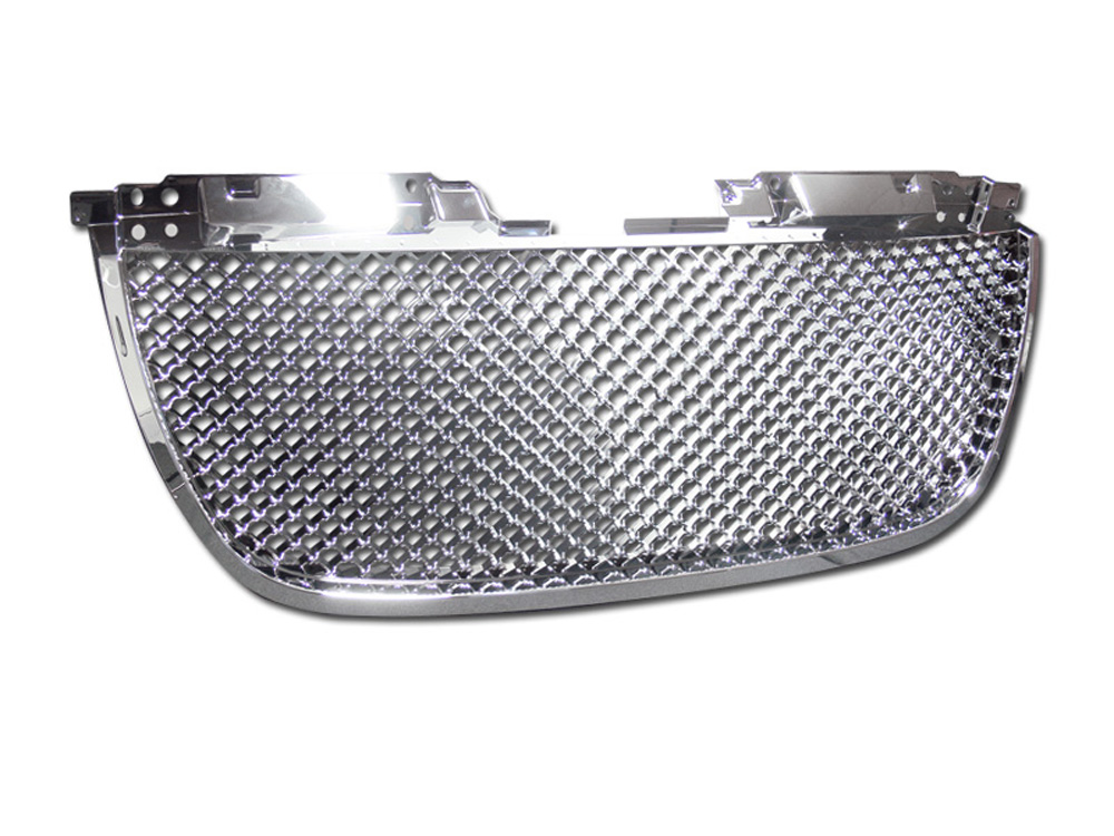 Armordillo 7148871 USA Chrome Mesh Style Lower Grille GMC Yukon XL | Denali 2007-2014