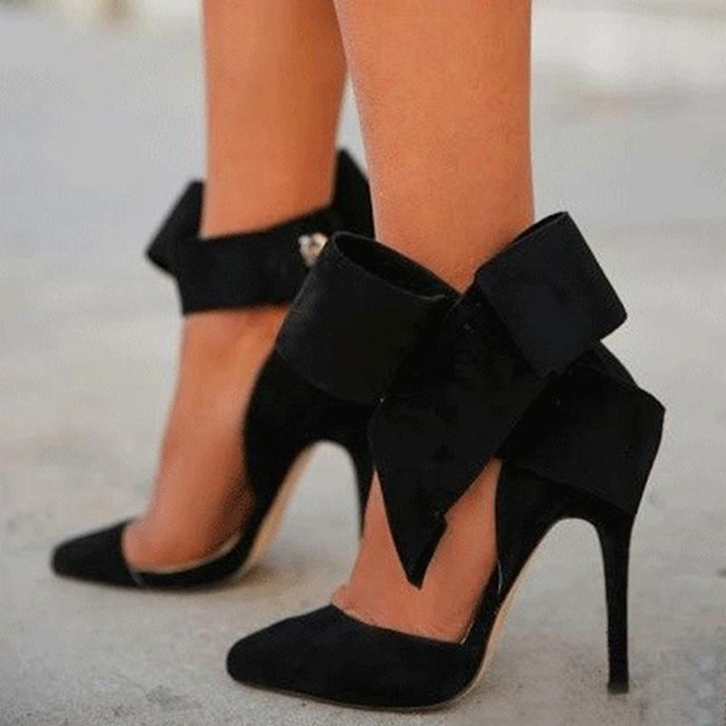 Ericdress Fashion Stiletto Platform High Heel Sandals with Big Bowknot