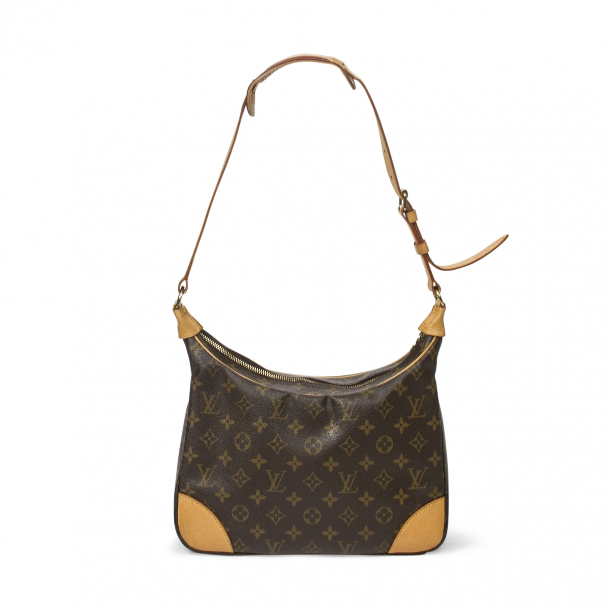 Louis Vuitton Boulogne Brown Cotton handbag for Women \N