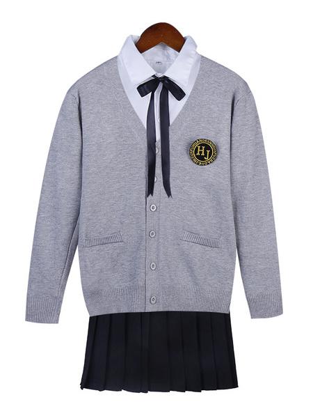 Milanoo Korean School Uniform For Girls School Girl Uniform Sets Halloween