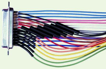 TE Connectivity Heat Shrink Tubing, Black 19.1mm Sleeve Dia. x 1.2m Length 2:1 Ratio, RW-175 Series