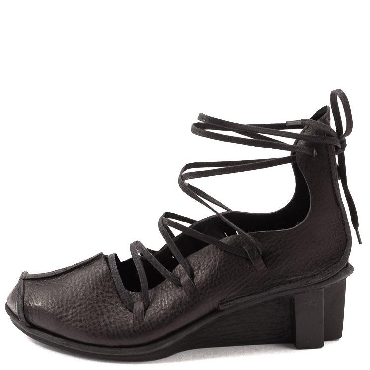 Trippen, Blade x+os Women's Lace-up Shoes, black Größe 36