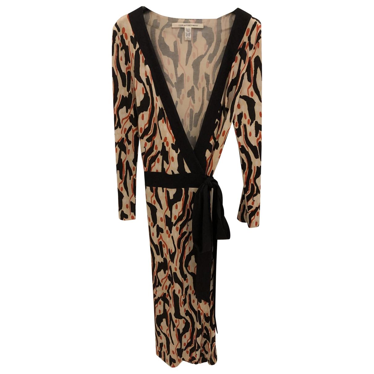 Diane Von Furstenberg \N Multicolour Silk dress for Women 8 US