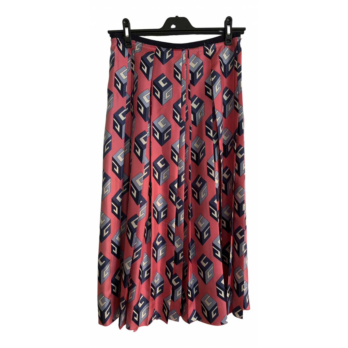 Gucci \N Multicolour Silk skirt for Women 44 IT