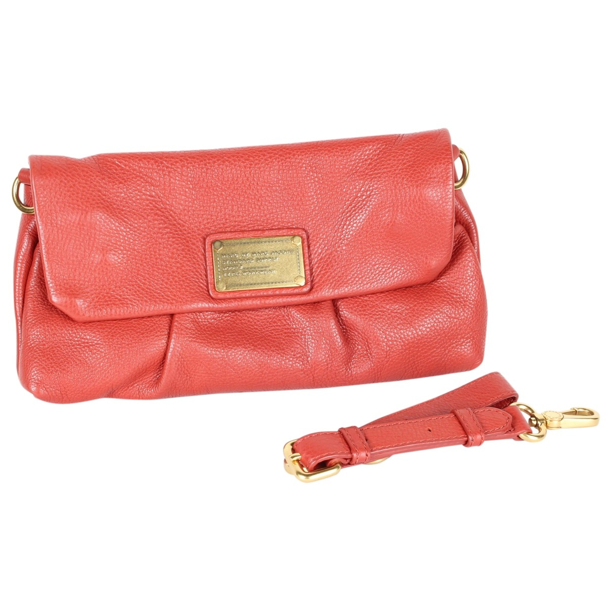 Marc By Marc Jacobs \N Red Leather Clutch bag for Women \N