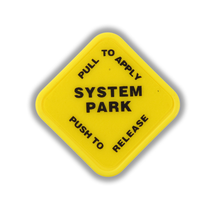 Power Products 20903P - System Park Knob Square / Yellow