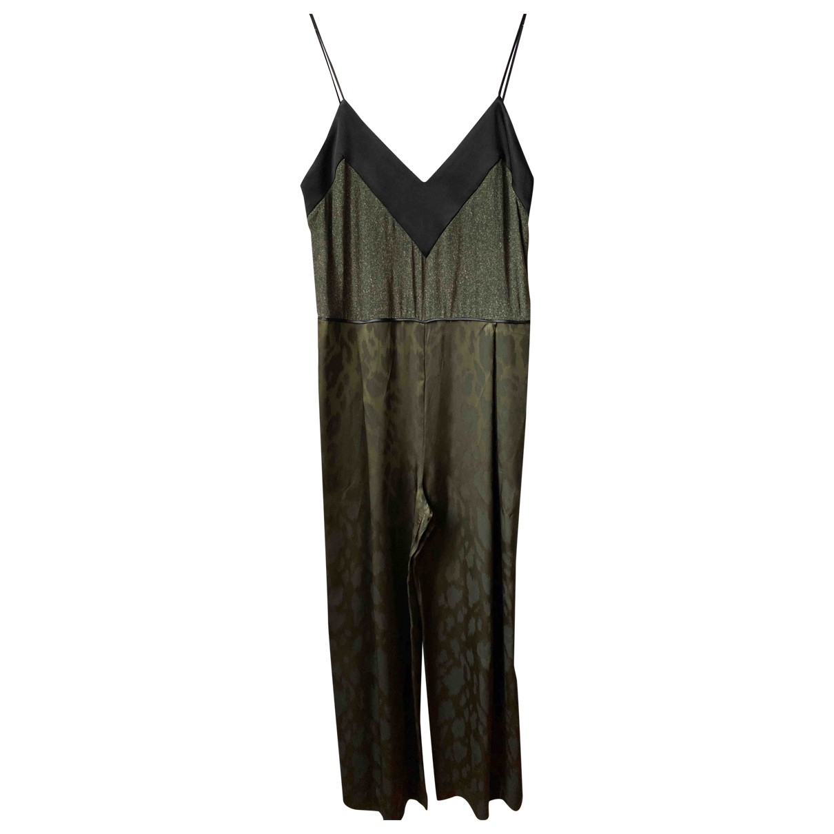 Non Signé / Unsigned \N Green jumpsuit for Women 42 IT