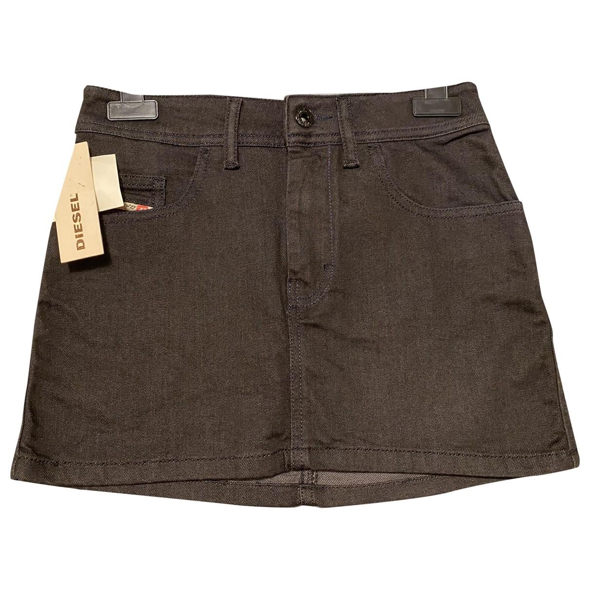 Diesel \N Black Cotton skirt for Women S International