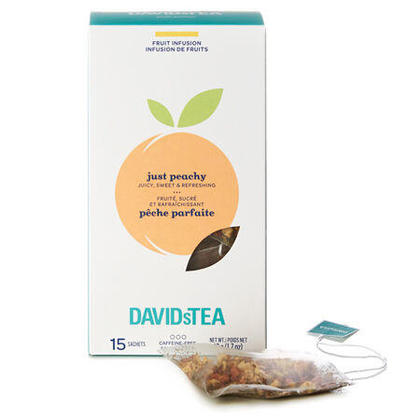 DAVIDsTEA just peachy 15 sachets