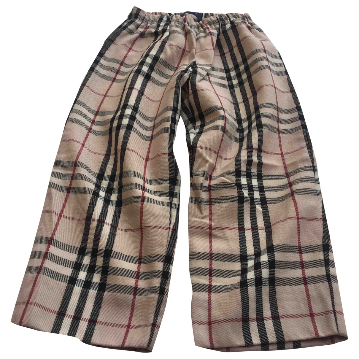 Burberry \N Wool Trousers for Kids 3 months - up to 60cm FR