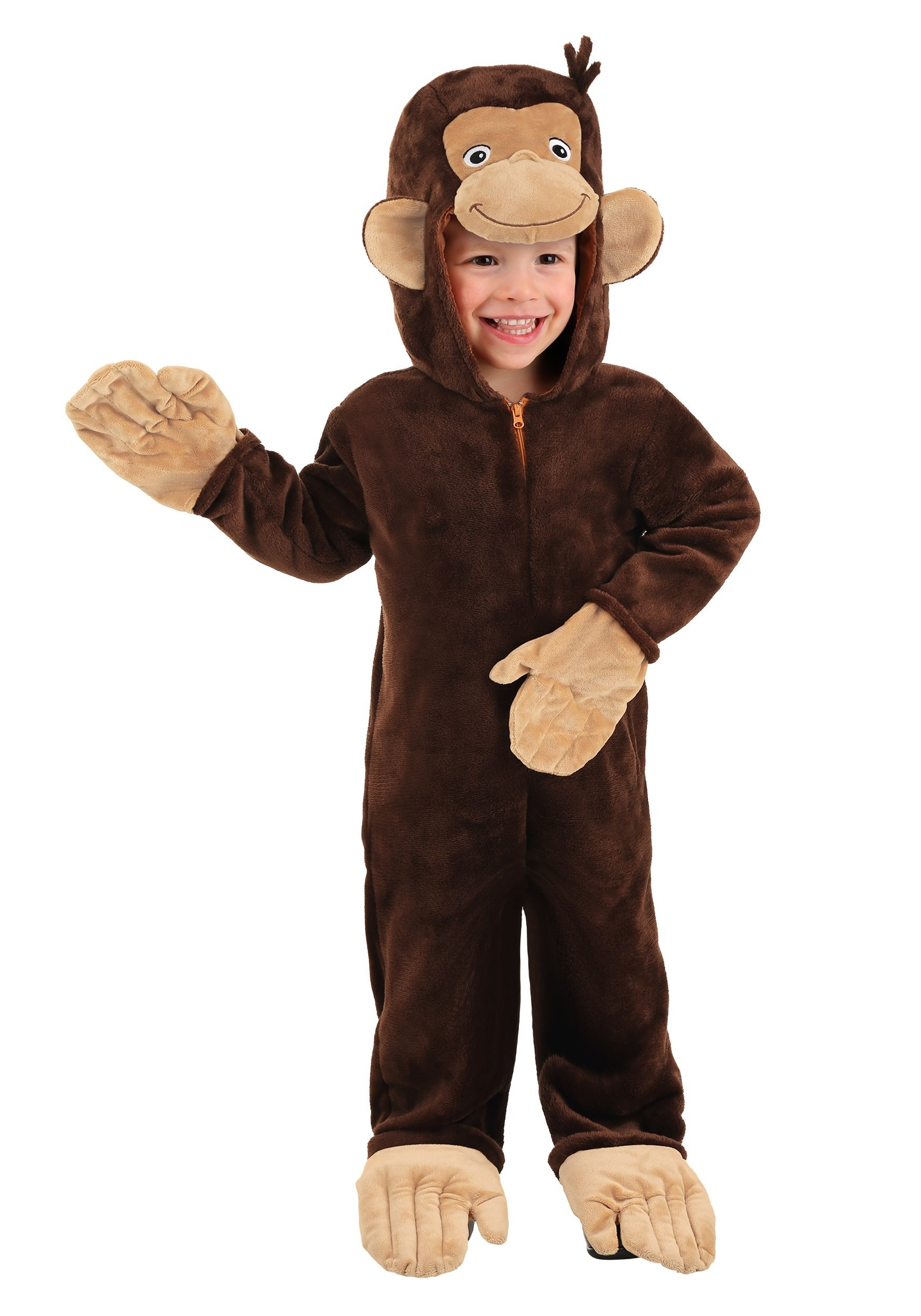 Curious George Deluxe Costume for Toddlers