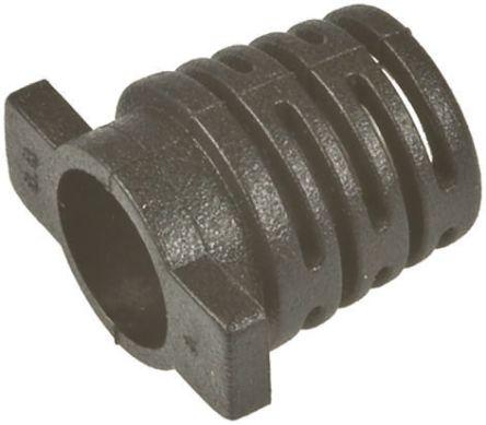 Hirose , Black Locating Cable Bushing, 7mm Bundle Diameter (10)