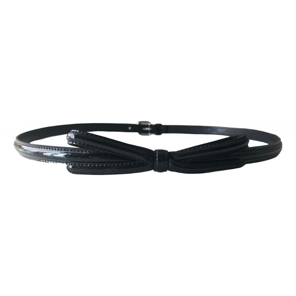 Prada \N Black Patent leather belt for Women 75 cm