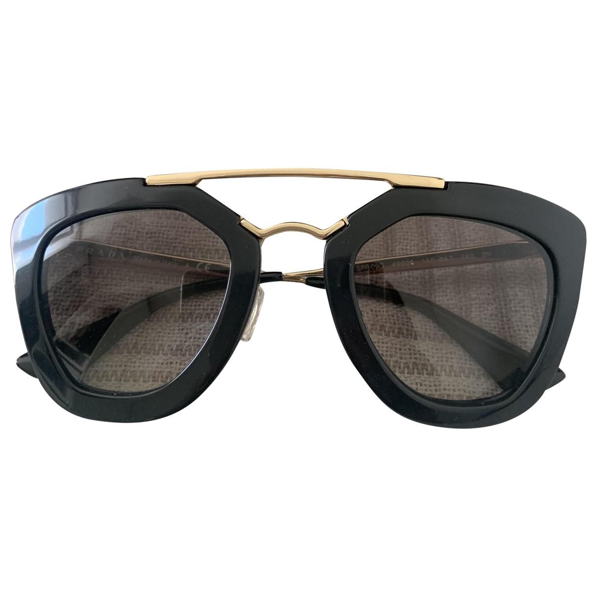 Prada \N Black Sunglasses for Women \N