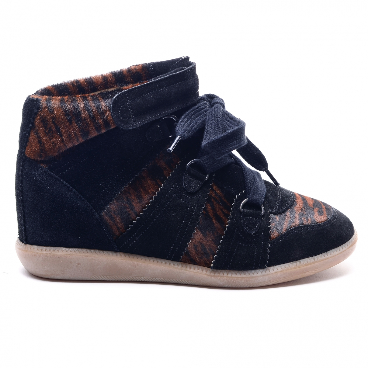 Isabel Marant \N Multicolour Pony-style calfskin Ankle boots for Women 40 EU