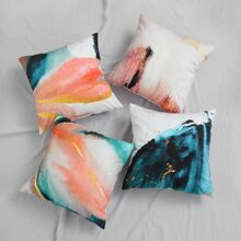 1pc Oil Painting Cushion Cover