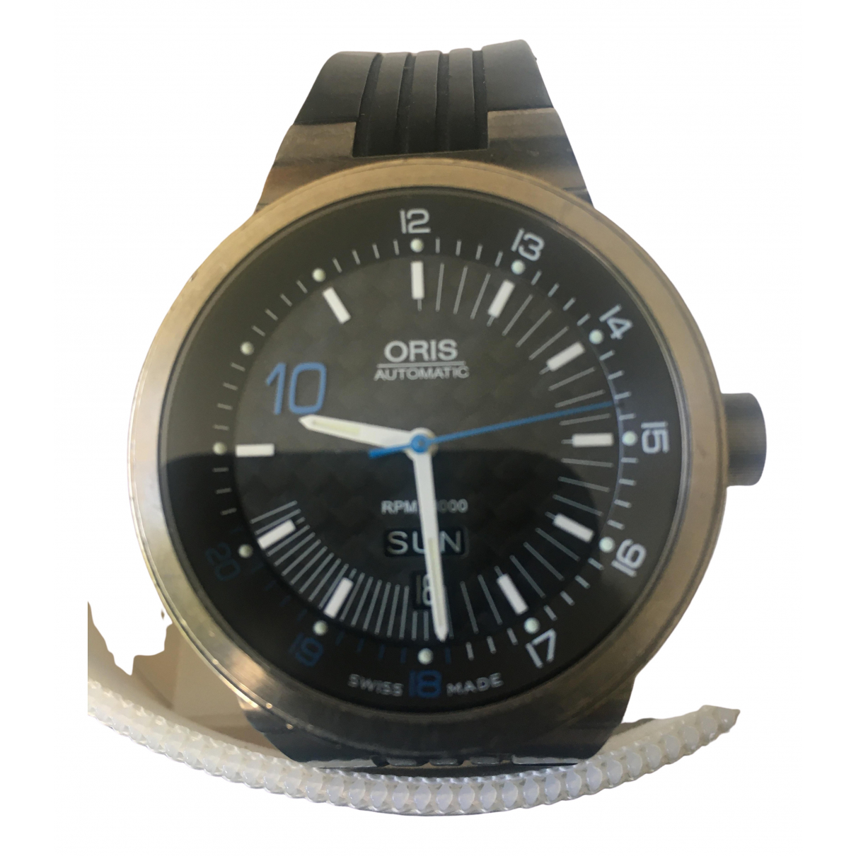Oris \N Metallic Titanium watch for Men \N