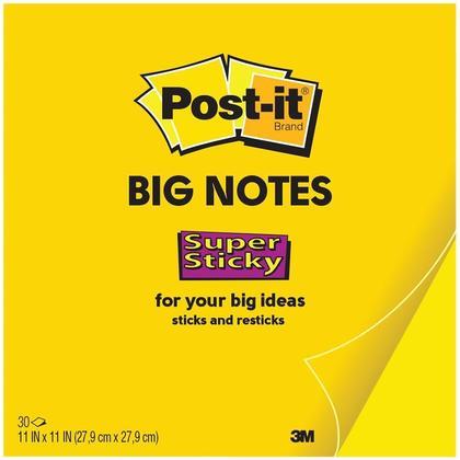 Grandes Notes Post-it@ - 11 x 11
