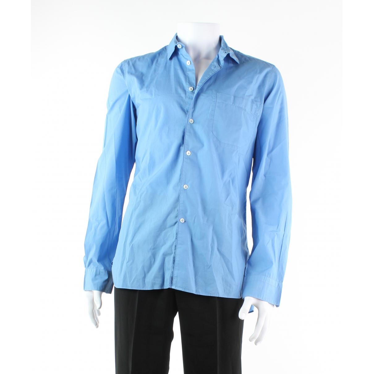 Lanvin \N Blue Cotton Jeans for Men 40 FR