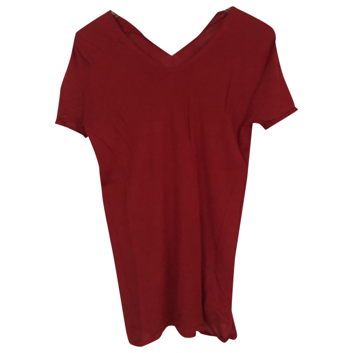 Eric Bompard \N Red Cashmere  top for Women M International