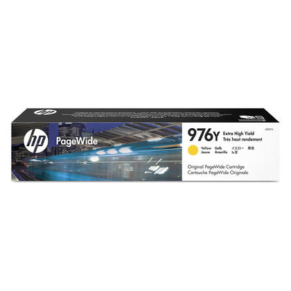 HP 976Y L0R07A Original Yellow PageWide Ink Cartridge Extra High Yield