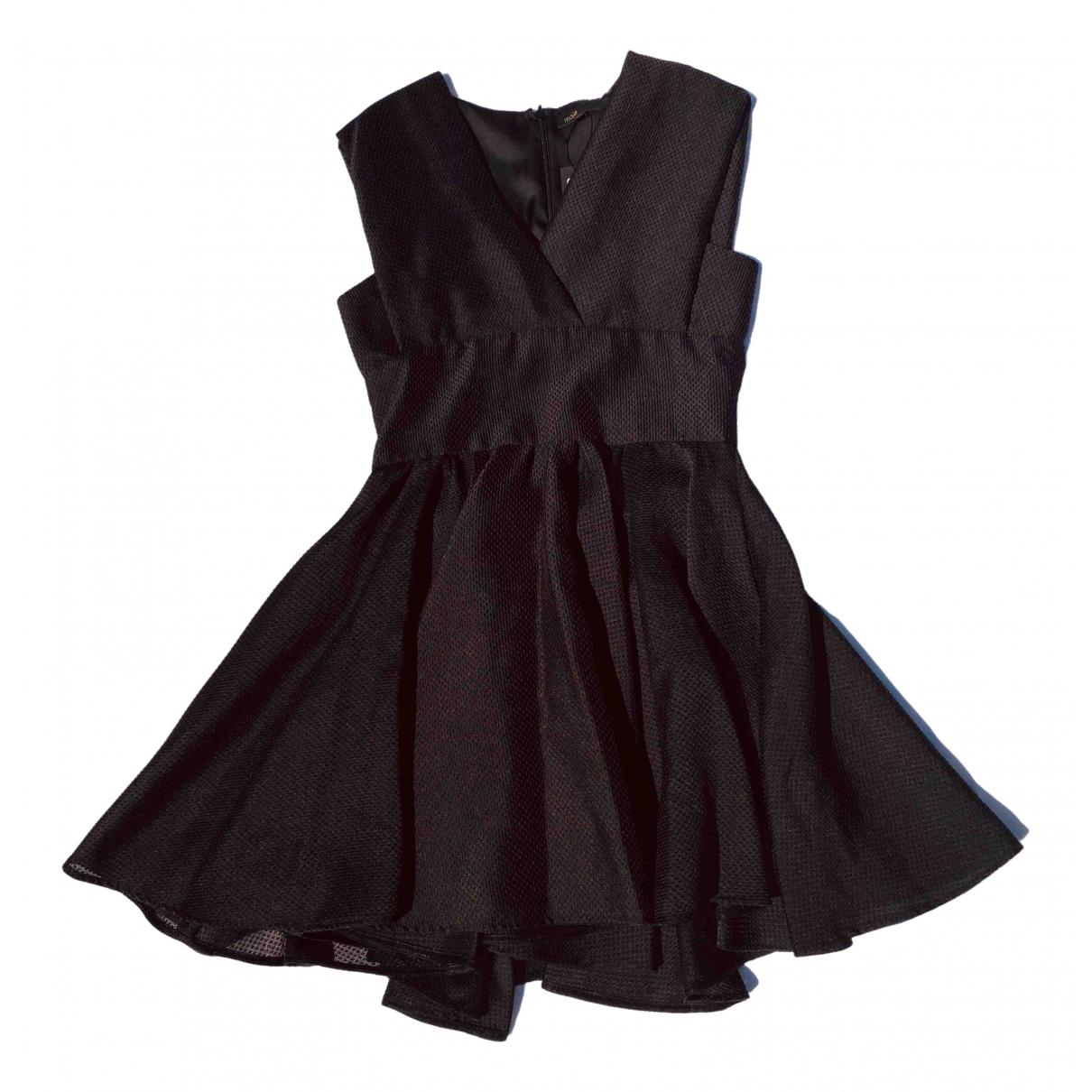 Maje Spring Summer 2019 Black Denim - Jeans dress for Women 40 FR