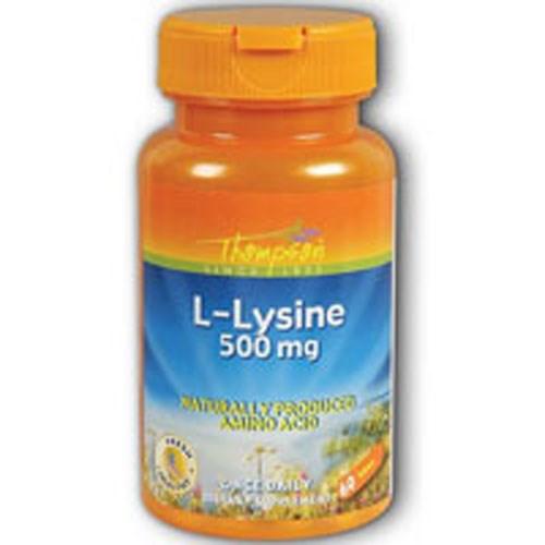 L-Lysine 60 Tabs by Thompson