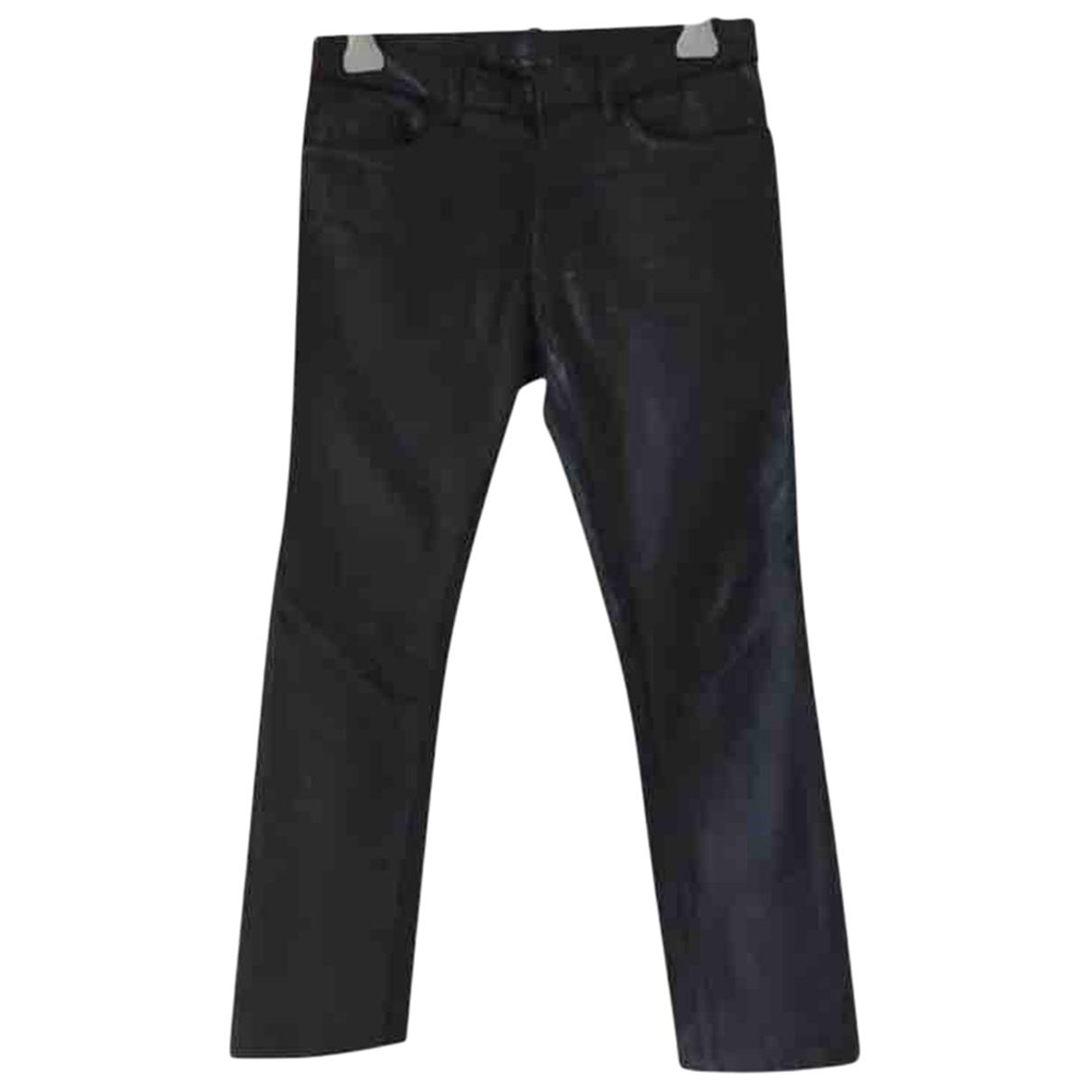 Balenciaga \N Black Denim - Jeans Jeans for Women 38 FR