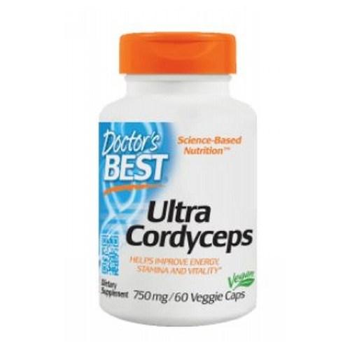 Ultra Cordyceps 60 Veggie Caps by Doctors Best
