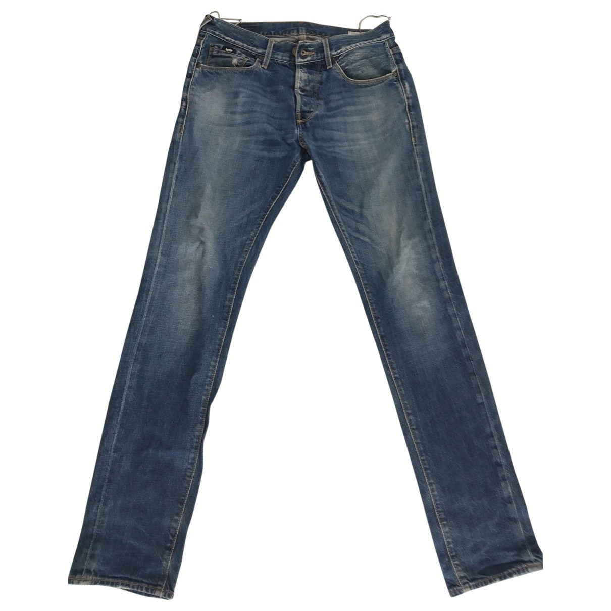 Gas \N Blue Cotton Jeans for Men 30 US