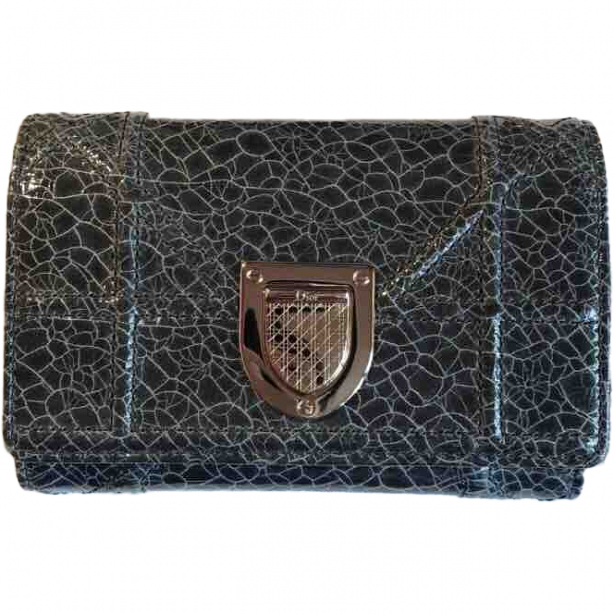 Dior Diorama Grey Leather wallet for Women \N
