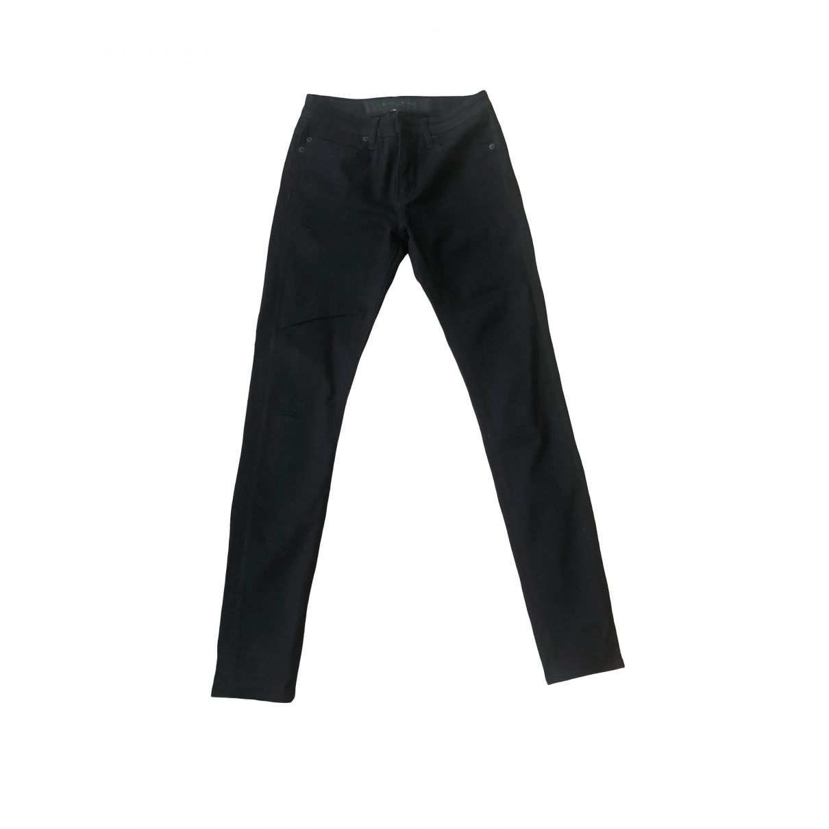 Surface To Air \N Black Cotton Jeans for Women 25 US